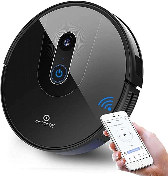 Amarey A900 Smart Navigating Robotic Vacuum Cleaner